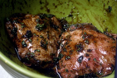 Marinating Chicken Thighs