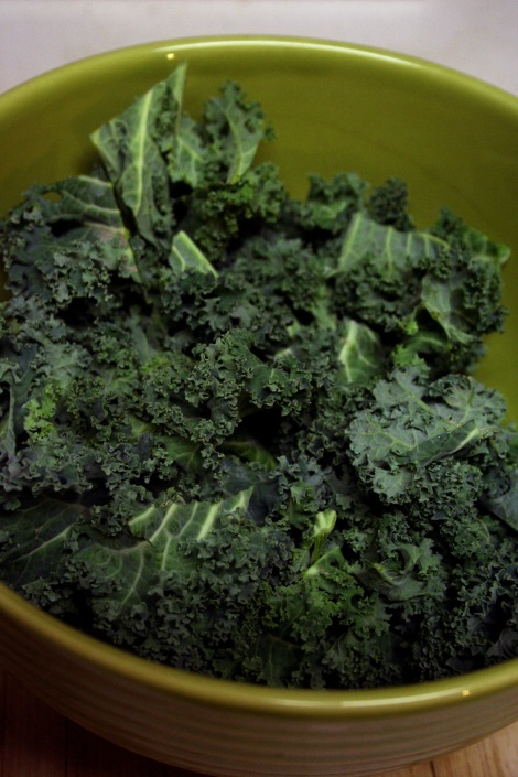 Kale Pieces in bowl